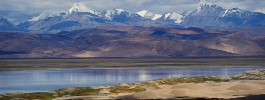 The origin point of the Yarlung Tsangpo (Brahmaputra), in Tibet