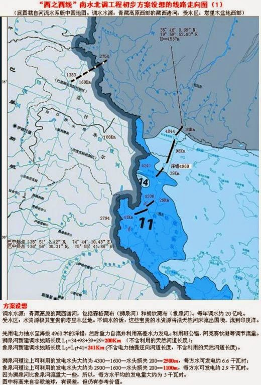 Diverting the Indus River to Xinjiang: a 'pilot' project ... on were is the indus river, euphrates river, yellow river, about the indus river,