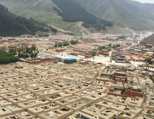 Labrang monastery in Sangchu county, Gansu, June 1, 2015. Photo courtesy of an RFA listener