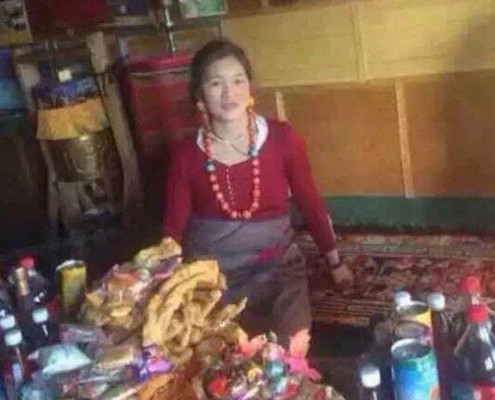 Dorjee Dolma in an undated photo. Photo courtesy of an RFA listener