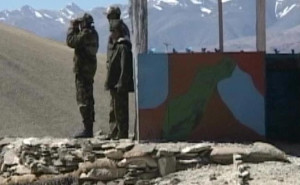 Chinese troops were building a watchtower very close to a critical Indian air strip. (File photo)