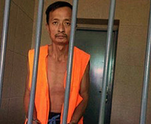"""A petitioner accused by the government of """"blackmail"""" is held in detention in Inner Mongolia, Oct. 2015. (Photo courtesy of Center for Human Rights and Development)"""
