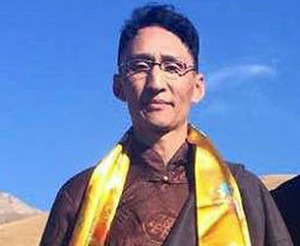 Tibetan writer Arik Dolma Kyab in an undated photo.(Photo courtesy of an RFA listener)